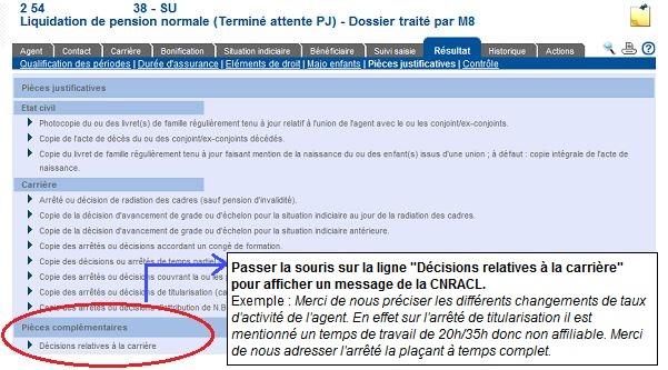 calcul retraite cnracl